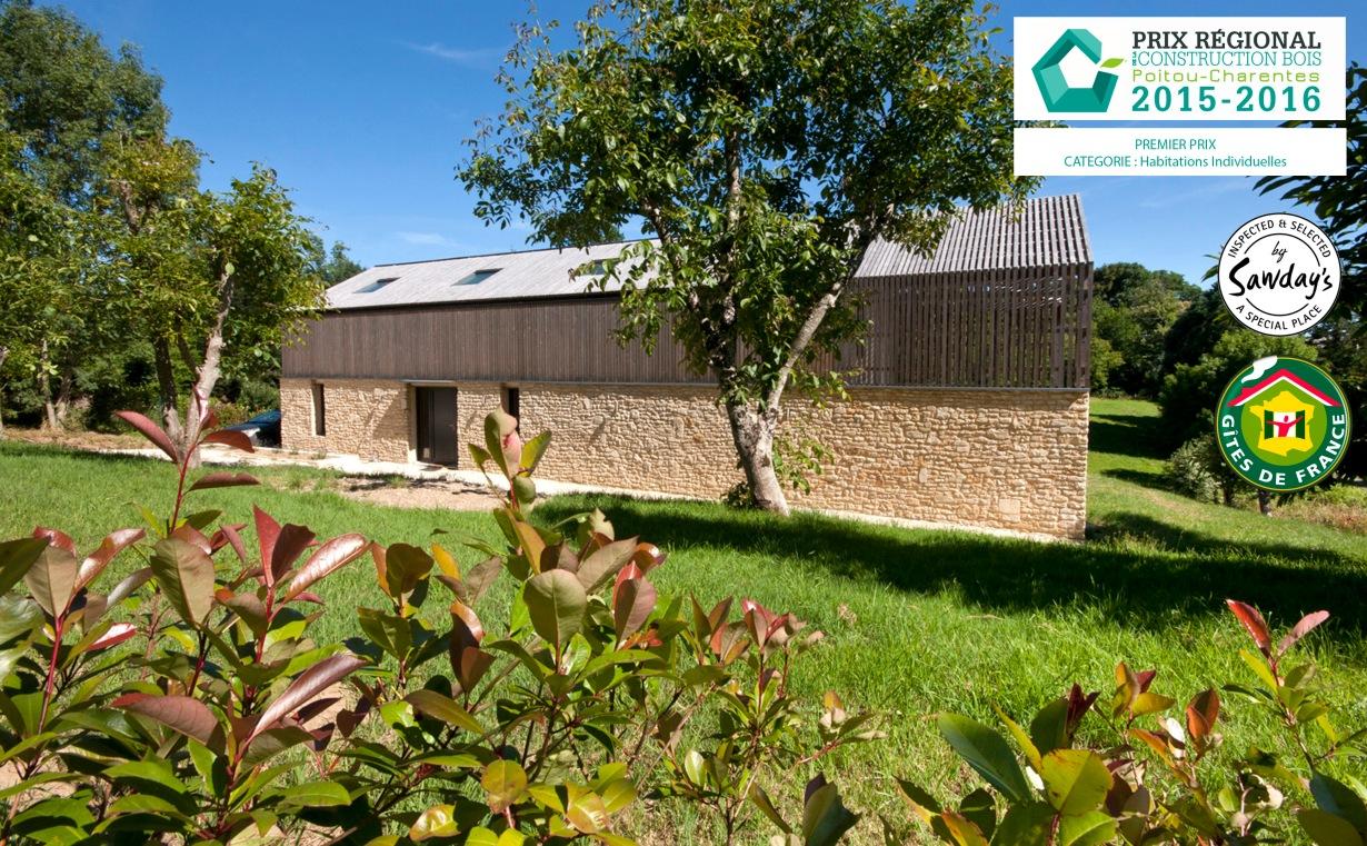 Constructeur Maison En Bois Limoges la maison bois charente | stay in an award winning, all