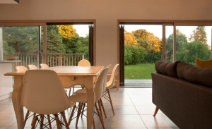 La Maison Bois, montemboeuf, charente, gite, eco gite, eco holiday home, timber frame, 4 bedrooms, self catering, family