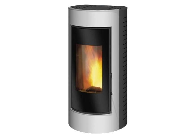 Wood pellet boiler or 'poel'