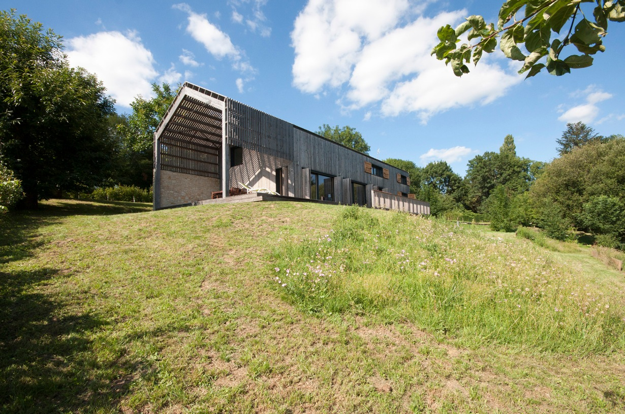 Montemboeuf, la maison bois, gite, holiday home